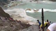 More than 100 workers killed in landslide at jade mine in Myanmar