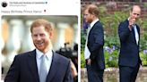 William's 'curt' birthday post to Harry proves 'ice has not thawed', says expert