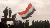 Thousands of Iraqis head back to the streets, a year after protests swept their nation