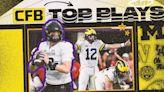 College Football Week 8 Top Plays: Northwestern-Michigan, LSU-Ole Miss, more