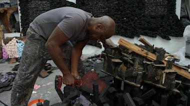 "Sculptor Leonardo Drew on being ""the crack addict of art"""