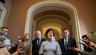 Sen. Susan Collins won't back abortion rights bill, arguing it contains 'extreme' language