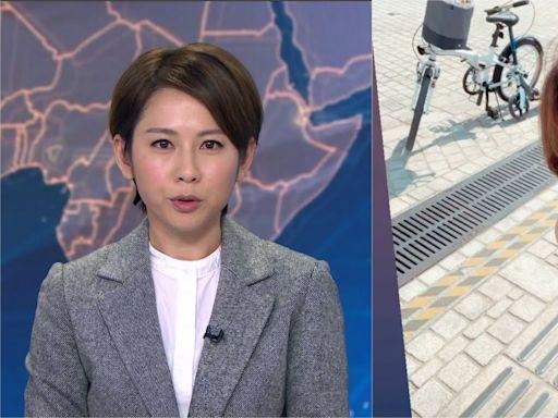 41歲無綫新聞女主播黃珊假日素顏踩單車 網民大讚:靚過上鏡!