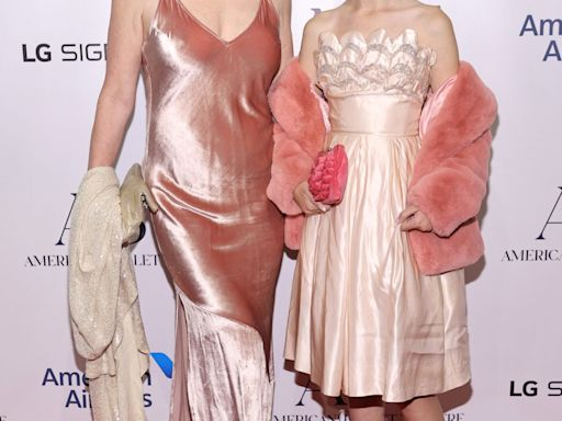 Molly Ringwald and 12-Year-Old Daughter Adele Enjoy Red Carpet Night Out in Pink Outfits