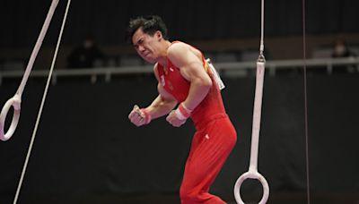 體操|中國世錦全能王 腰傷退出吊環雙槓