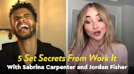5 Set Secrets From Work It With Sabrina Carpenter and Jordan Fisher