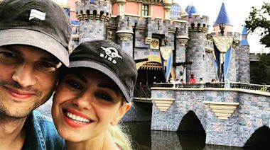 Ashton Kutcher & Mila Kunis Head to 'Happiest Place on Earth' After Rough Week