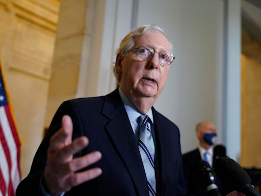 Mitch McConnell says he has no plans to step down as Senate GOP leader or retire: 'I'm at the top of my game'