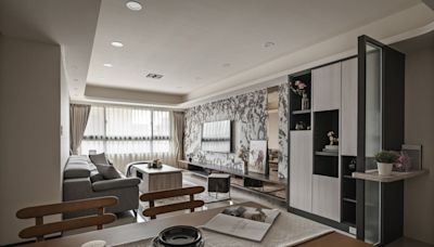 機能與質感兼具 輕奢風小宅打造大屋氛圍