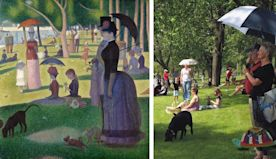 Art Lovers and Volunteers Recreate Georges Seurat's Famous Painting in Real Life