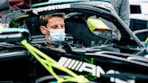 Grosjean tests Hamilton's Mercedes after French Grand Prix - NBC Sports