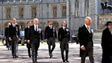 Princess Anne Walked Beside Brother Charles as Sole Woman in Prince Philip's Funeral Procession