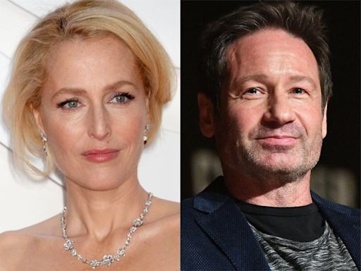 X-Files fans react to Gillian Anderson and David Duchovny reunion photo: 'Can't you just marry already?'