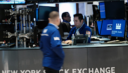 Stock market news live updates: Stocks rise, Nasdaq jumps to record high amid Q3 GDP miss, drop in jobless claims