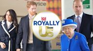 Queen Elizabeth II Delivers Address Ahead of Harry, Meghan's Sit-Down
