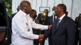 'Happy to See You': Ivory Coast Political Rivals Hug in Reconciliation Push | World News | US News