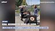 """Roma, Mourinho col drone: """"É lavoro.."""""""