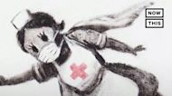 Banksy Honors Health Care Workers With New Piece