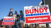 Far-right activist Ammon Bundy is running for Idaho governor, tapping an anti-establishment trend