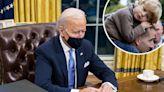 President Joe Biden's Oval Office Now Features a Sweet Photo of Late Son Beau Biden