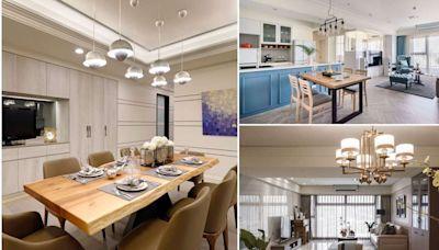 開放廚房與中島設計 搭配完善機能與收納需求 全面開啟家的舒適度