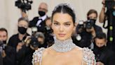 Kendall Jenner Wore an Entirely Sheer 'My Fair Lady' Inspired Gown to the Met Gala