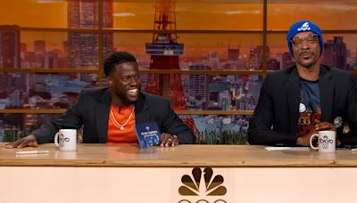 Kevin Hart and Snoop Dogg's candid commentary of the Olympics is comedy gold