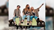 Three young women transform shared betrayal into friendship and adventure