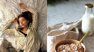 老是睡不好?5種「助眠食物」吃起來 還能抗焦慮、消疲勞
