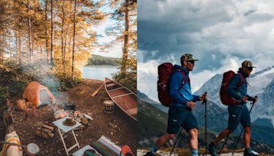 戶外用品最低$229起!天涼好個Chill~健走、溯溪、露營裝備清單看這篇,3大Outdoor紓壓行程玩起來