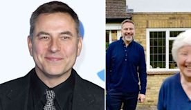 David Walliams expresses his gratitude after his mum Kathleen, 77, receives first COVID vaccine