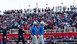 Ryder Cup Day 1: Europe scores first, USA roars back