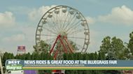 New rides, great food at the Bluegrass Fair