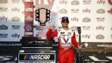 Kyle Larson captures checkered flag in NASCAR race at Nashville Superspeedway - The Boston Globe