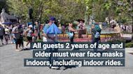 Disney World, Disneyland Will Require All Guests Wear Masks Indoors Regardless of Vaccination Status