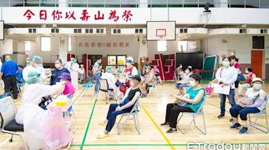 桃園第2輪目標「接種至79歲長者」 巨蛋站10注射線單日施打2千人
