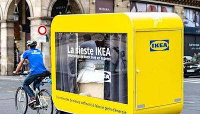 法國IKEA推「行動睡眠艙」!邀請上班族預約、午睡30分鐘