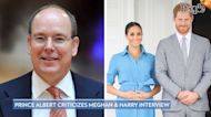 Prince Albert Criticizes Meghan Markle and Prince Harry's Oprah Winfrey Interview