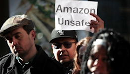 Amazon sees fresh push to unionise in New York