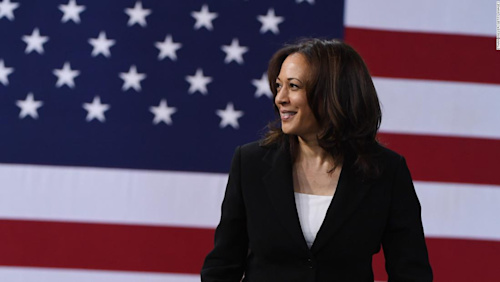 Kamala Harris: Gun control action is 'literally in the hands' of Mitch McConnell