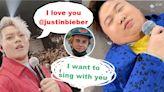 肥仔紅館台上瞓覺 保錡向Justin Bieber介紹ERROR