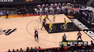 Jae Crowder with a buzzer beater vs the Los Angeles Lakers