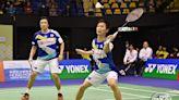 【香港羽毛球公開賽】諶龍因傷退賽無緣4強 日本男雙拍走衛冕「小小兵」