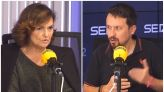 Carmen Calvo mira al pasado y le abre en directo a Pablo Iglesias la caja de los truenos