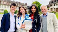 Catherine Zeta-Jones & Michael Douglas Celebrate Daughter Carys' Graduation!
