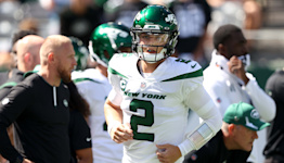 Jets QB Zach Wilson struggles against Bill Belichick and the Patriots
