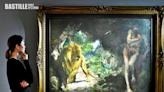 徐悲鴻油畫巨作《奴隸與獅》估價4.5億 成史上最高估價亞洲藝術品 | 社會事