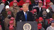Trump downplays coronavirus and attacks mail-in voting while campaigning