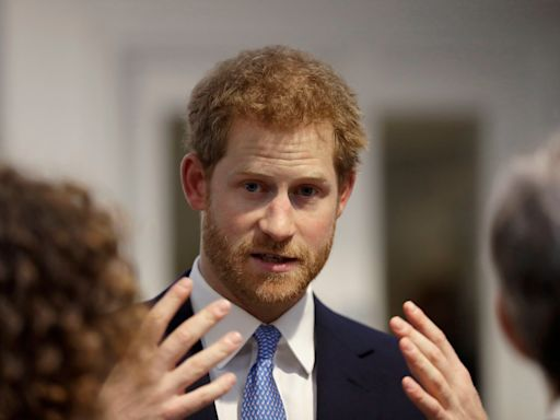 Prince Harry Is Reportedly Very Stressed Out About Having Left Pregnant Meghan Markle Alone