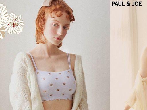貓奴必收!GiRLS by PEACH JOHN x PAUL&JOE推出可愛貓咪內衣與經典花朵居家服